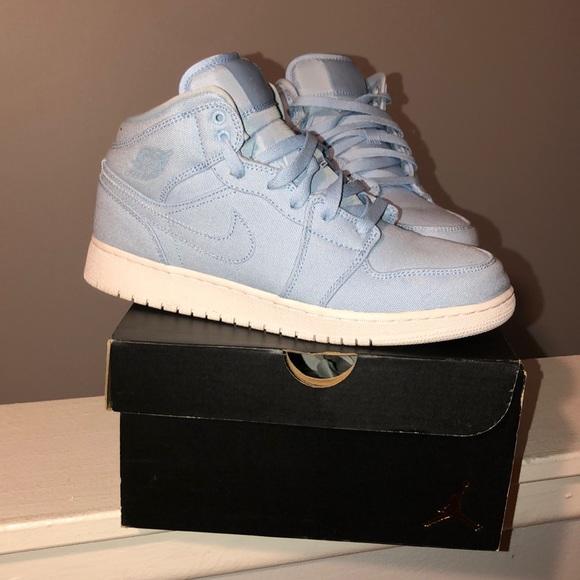 size 40 31108 d0be6 *HOST PICK* 🎊 Air Jordan blue high tops !